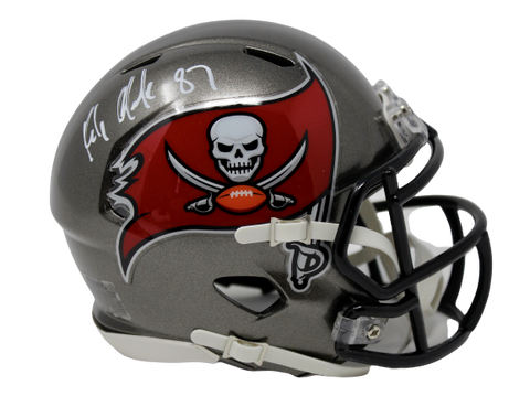 Rob Gronkowski Tampa Bay Buccaneers Signed Authentic Speed Mini Helmet JSA