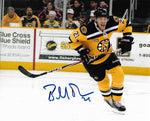 Bobby Robins Providence Boston Bruins Signed Autographed Action 8x10 Photo