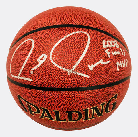 Paul Pierce Boston Celtics Signed Autographed Inscribed 2008 MVP Basketball JSA