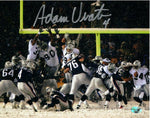 Adam Vinatieri New England Patriots Signed Autographed Snow Kick 8x10