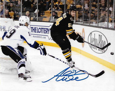 Adam McQuaid Boston Bruins Signed Autographed Action 8x10 Photo
