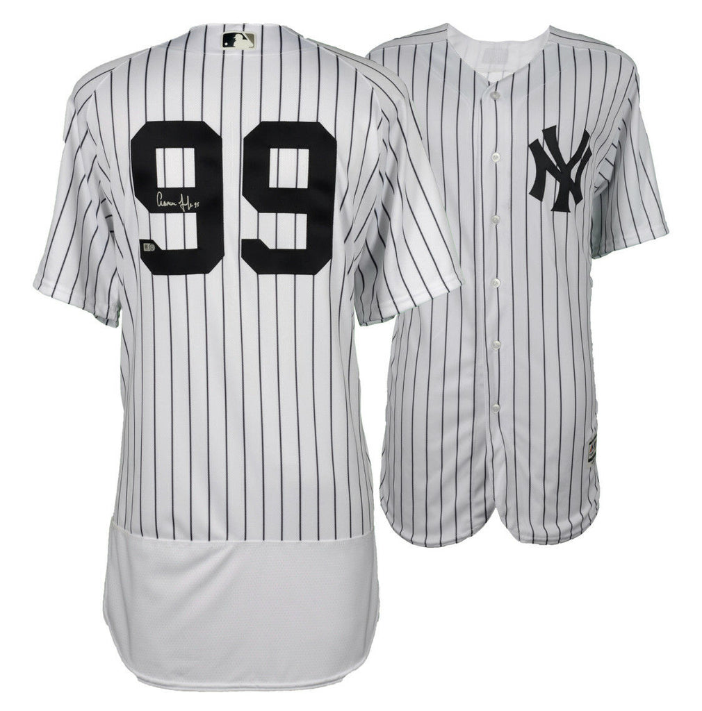 wholesale dealer 16d33 db4a7 Aaron Judge New York Yankees Signed Autographed Authentic MLB Jersey JSA
