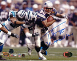 Troy Brown New England Patriots Signed Autographed 16x20 Photo 3x SB Champ