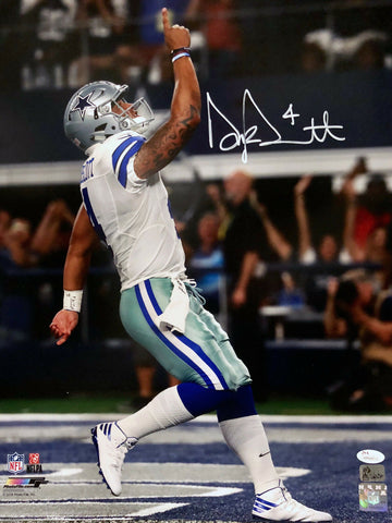 Dak Prescott Dallas Cowboys Signed Autographed Celebration 16x20 Photo JSA