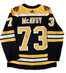 Charlie McAvoy Boston Bruins Signed Autograph Bruins Adidas Ice Jersey Fanatics