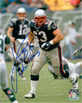 Joe Andruzzi New England Patriots Signed Autographed 8x10 Photo Boston Strong