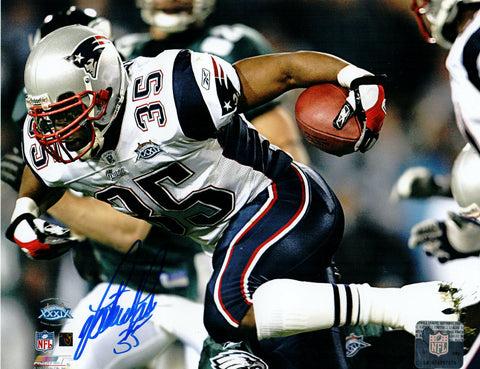 Patrick Pass New England Patriots Signed Autographed 8x10 Photo SB XXXIX