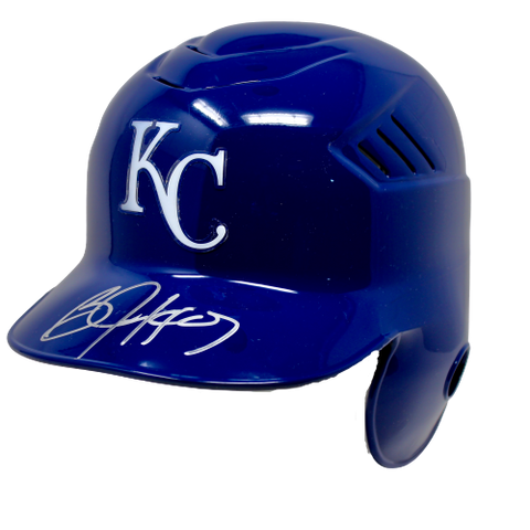 Bo Jackson Kansas City Royals Signed Full Size Batting Helmet Beckett BAS