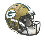Devante Adams Green Bay Packer Signed Full Size Camo Replica Helmet Beckett JSA