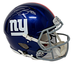 Saquan Barkley New York Giants Signed FS Speed Authentic Helmet Beckett BAS