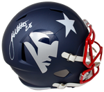 James White New England Patriots Signed Full Size Replica AMP Helmet Fanatics