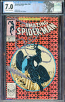 Amazing Spider-Man #300 1st App VENOM Marvel 1988 OW/Wh CGC 7.0 Custom Label