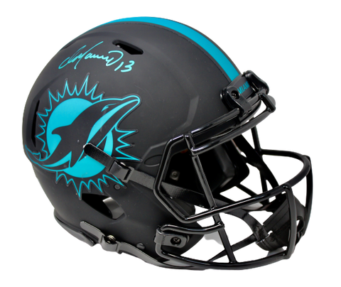 Dan Marino Miami Dolphins Signed FS Authentic Eclipse Speed Helmet Beckett BAS