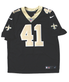 Alvin Kamara New Orleans Saints Signed Authentic Nike Limited Black Jersey BAS