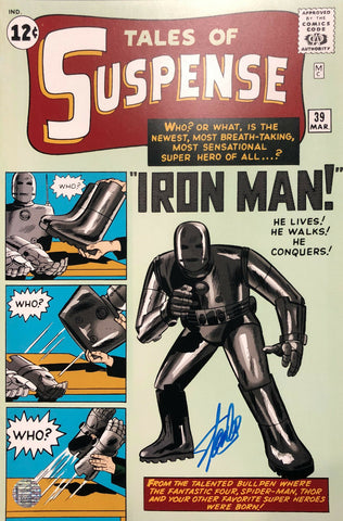 Stan Lee Signed Autographed Tales of Suspense 12x18 Marvel Comics STAN LEE HOLO