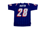 Curtis Martin New England Patriots Signed Authentic Mitchell & Ness Jersey PA