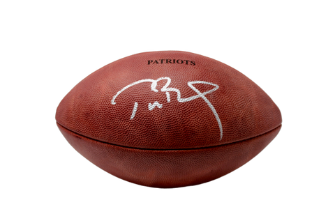 Tom Brady New England Patriots Signed NFL Duke Patriots Game Football TRISTAR