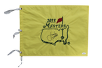 Jordan Spieth Signed Autograph Golf 2015 Masters Authentic Flag Full Name JSA