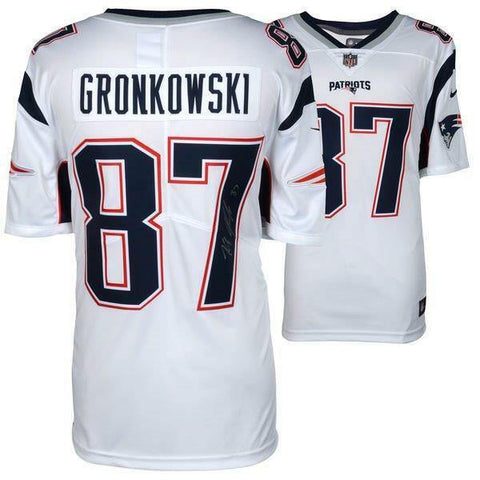 Rob Gronkowski New England Patriots Signed Autographed Nike Limited Jersey JSA