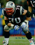 Logan Mankins New England Patriots Signed Autographed 7x Pro Bowl 8x10 Photo PA