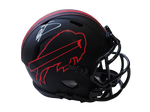 Stefon Diggs Buffalo Bills Signed Eclipse Mini Helmet Helmet BAS