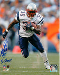 Patrick Pass New England Patriots Signed Autographed Away 8x10 Photo 3x Champ