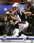 Ty Law New England Patriots Signed Autographed Super Bowl XXXVI 16x20 Photo