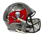 Rob Gronkowski Tampa Bay Buccaneers Signed Speed Replica Helmet JSA