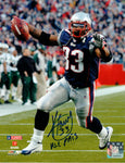 Kevin Faulk New England Patriots Signed Autographed 8x10 Photo NE PATS