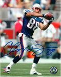 Christian Fauria New England Patriots Signed Autographed 8x10 Photo