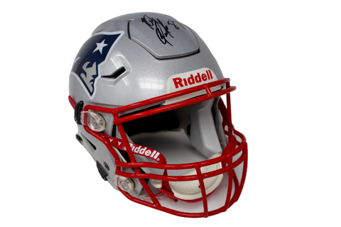 Rob Gronkowski New England Patriots Signed Authentic Speed Flex Helmet JSA