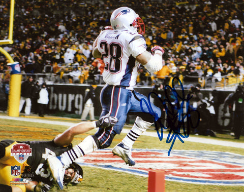 Corey Dillon New England Patriots Signed Autographed AFC Game 8x10 Photo