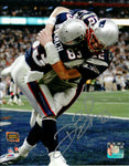 Deion Branch New England Patriots Signed Autographed 8x10 Photo SB XXXVIII