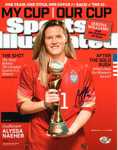 Alyssa Naeher USA World Cup Soccer Signed Autographed 8x10 Photo