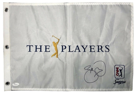 Jason Day Signed Autographed The Players Flag JSA