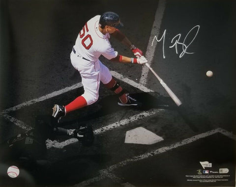 Mookie Betts Boston Red Sox Signed Autographed Diving Catch 16x20 Photo FANATICS