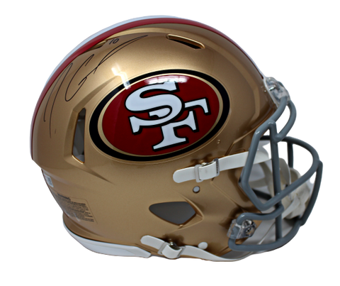 Jimmy Garoppolo San Fransisco 49ers Signed FS Speed Authentic Helmet Tristar