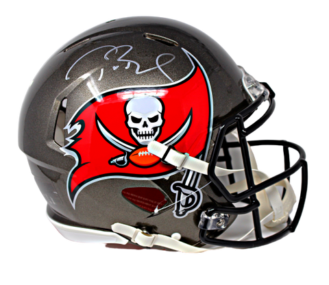 Tom Brady Tampa Bay Buccaneers Signed Autograph Speed Authentic Helmet Fanatics