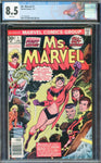 Ms. Marvel #1 1st Appearance Marvel 1977 White Pages CGC 8.5 VF+ Custom Label