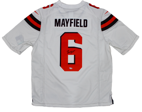 Baker Mayfield Cleveland Browns Signed Autograph Nike Limited Jersey Fanatics