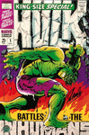 Stan Lee Signed Autographed Incredible Hulk Cover 12x18 Marvel Comics STAN HOLO