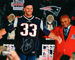 Kevin Faulk New England Patriots Signed Autographed HOF 8x10 Photo Tom Brady
