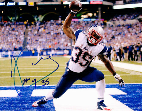 Jonas Gray New England Patriots Signed Autographed Touchdown 8x10 Photo