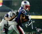 N'Keal Harry New England Patriots Signed 8x10 Photo 1st NFL Touchdown JSA