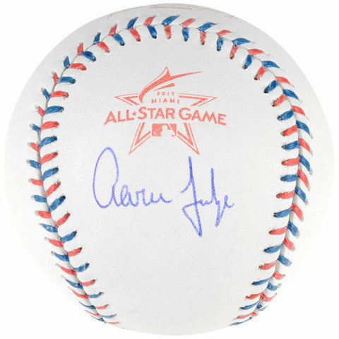 Aaron Judge New York Yankees Signed Autographed 2017 All Star Game Baseball JSA