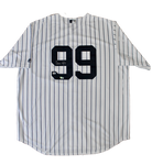 Aaron Judge New York Yankees Signed Autograph Nike Home Jersey Fanatics