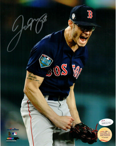 Joe Kelly Boston Red Sox Signed Autographed World Series 8x10 Photo JSA