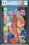 New Mutants #98 1st DEADPOOL Marvel 1991 White Pages CGC 9.6 NM+ Custom Label