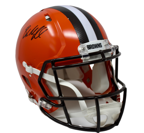 Baker Mayfield Cleveland Browns Signed Full Size Authentic Speed Helmet BAS
