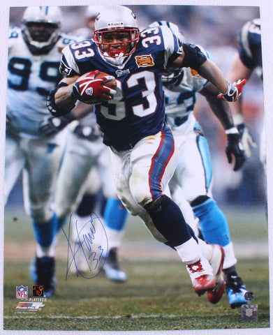 Kevin Faulk New England Patriots Signed Autographed 16x20 Photo